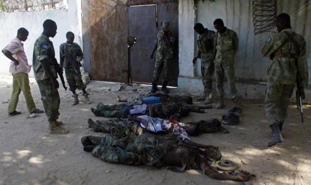 Somalia  - Varied Uniforms Corbis12