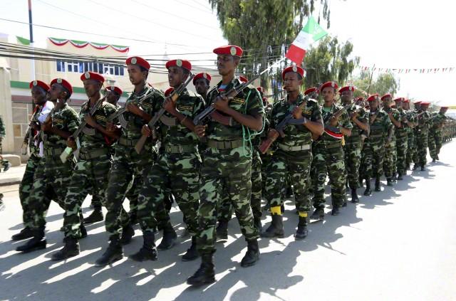Somalia  - Varied Uniforms Corbis14