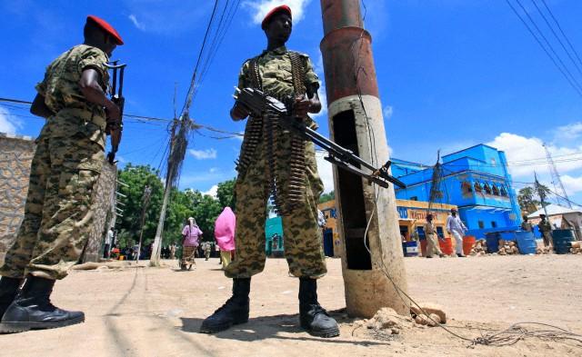 Somalia  - Varied Uniforms Corbis19