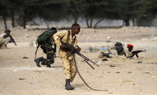 Somalia  - Varied Uniforms Corbis22
