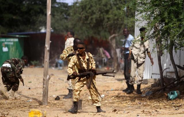 Somalia  - Varied Uniforms Corbis23