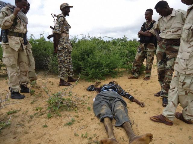 Somalia  - Varied Uniforms Corbis30