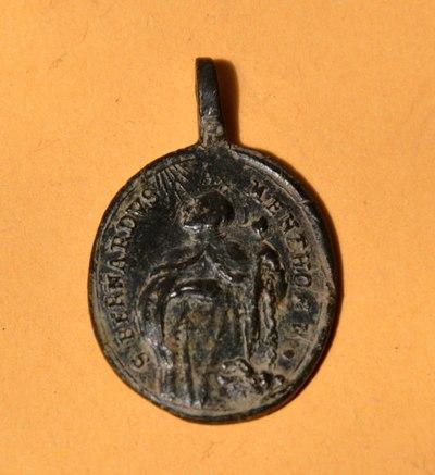 Médaille St-François-de-Paule & St-Bernard-de-Menthon - fin XVII/XVIIIème Dsc_0111