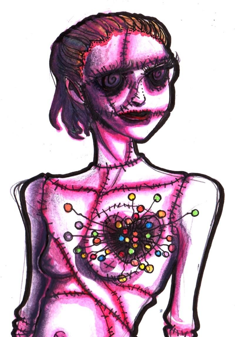 Tim Burton, dessins d'après ses nouvelles [nony4] 002110