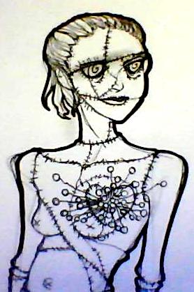 Tim Burton, dessins d'après ses nouvelles [nony4] Image212