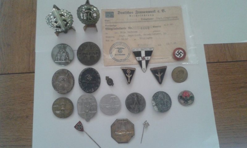 Ma collection de médailles allemandes Badges10