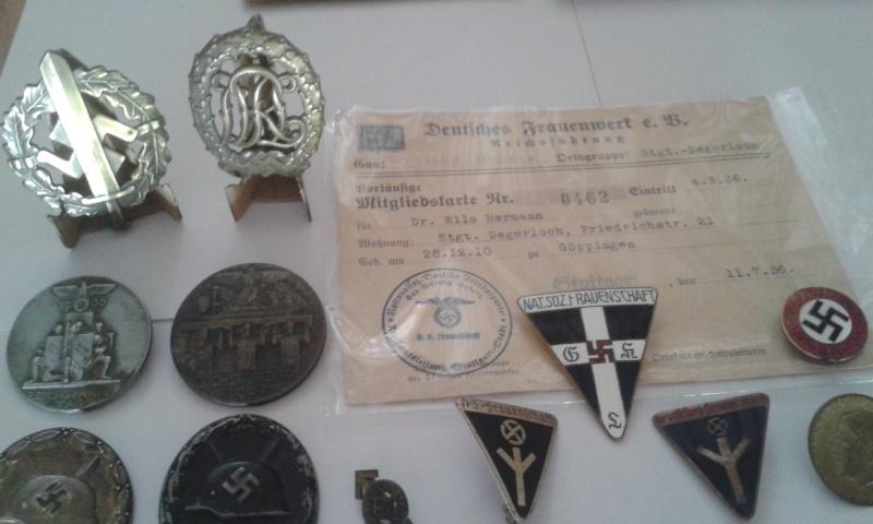 Ma collection de médailles allemandes Badges11