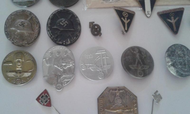 Ma collection de médailles allemandes Badges12