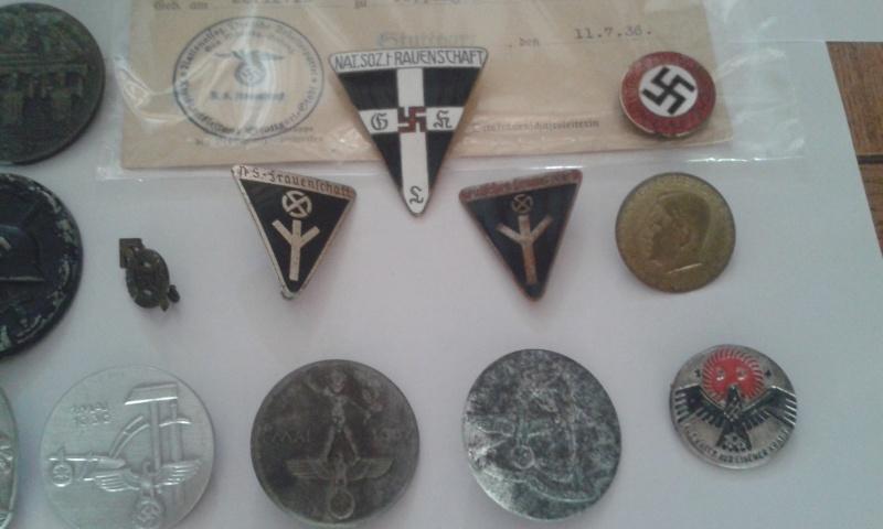 Ma collection de médailles allemandes Badges13