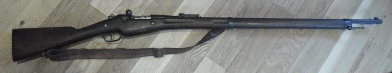 Le nouveau venu ; fusil Berthier 07/15 Sam_7110