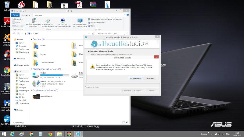 MAJ logiciel silhouette studio impossible de ouvrir - Page 2 Silhou10