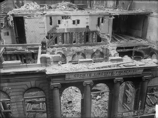 Remontage de l'hôtel d'Argenson 08-51910