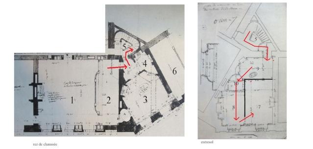 Le boudoir turc de Marie-Antoinette à Fontainebleau - Page 2 Plan_111