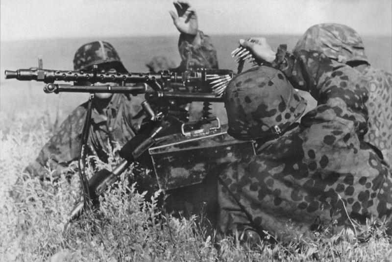 L'influence du camouflage allemand ww2, de nos jours. Mg210