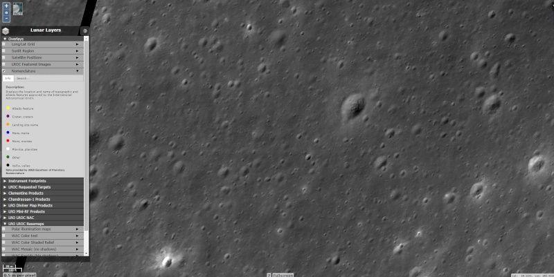 objet sur google earth 'moon' Sans_t12