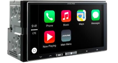 nouvel autoradio Alpine apple car play Captur14
