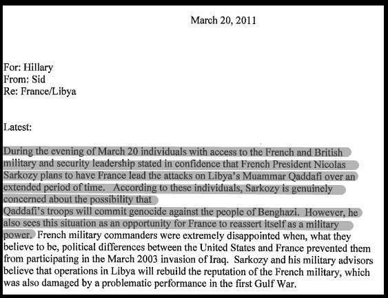 Comment la France a Mené une Guerre Contre la Libye pour du Pétrole Mails_10