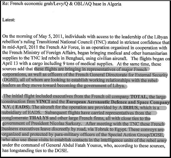 Comment la France a Mené une Guerre Contre la Libye pour du Pétrole Mails_16