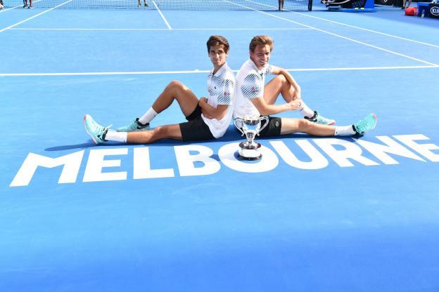 Tennis - Open d'Australie : le double français vainqueur 4d76d10
