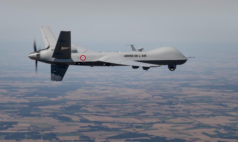 """Les drones """" Reaper """" dans l'Armée de l'Air française Reaper10"""