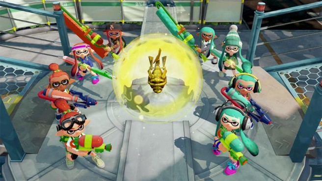 "Breaking News: Rainmaker Mode Is Headed To Splatoon Tomorrow In North America ""Saturday in Europe""! Splato14"