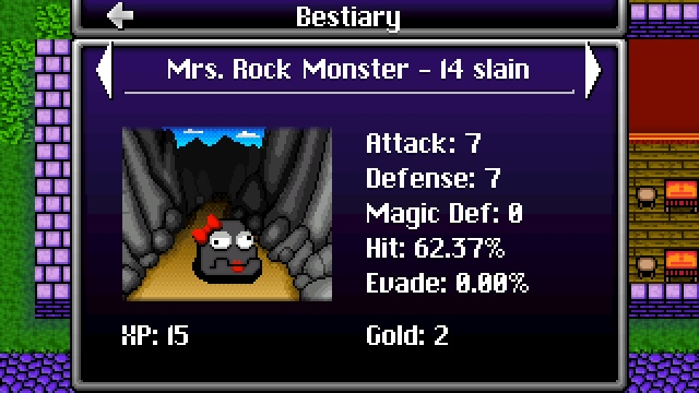 A Closer Look: Rock Monsters Are Dragon Fantasy's Version of Slimes! Wiiu_s24
