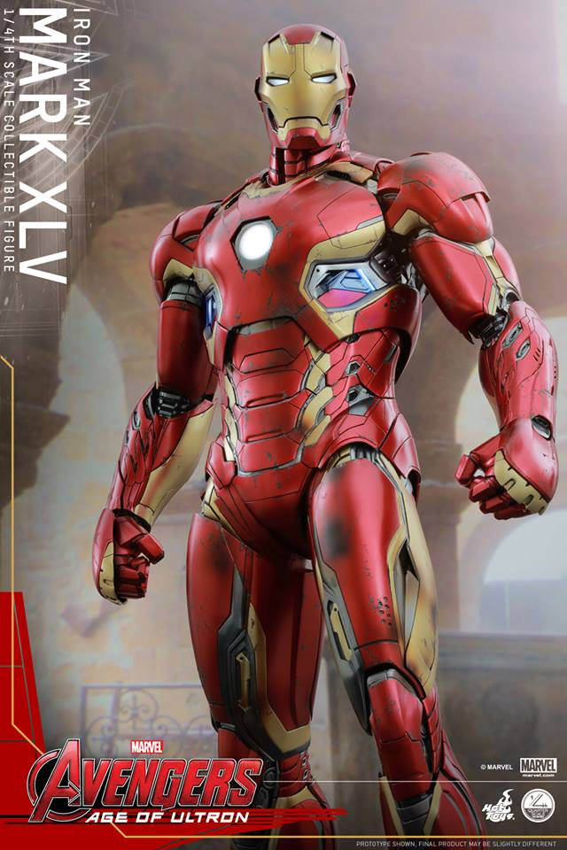 HOT TOYS - Avengers: Age of Ultron - Mark XLV 1/4 scale 10301110