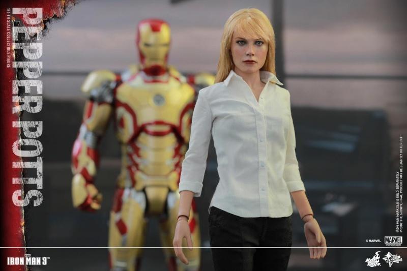 HOT TOYS -  Iron Man 3 - Pepper Potts 10999810