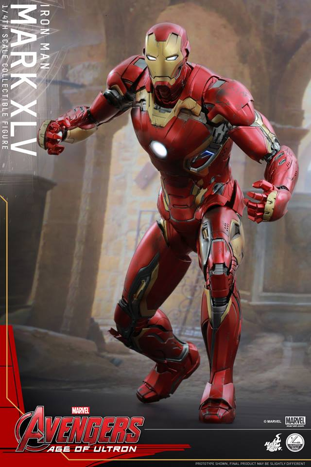 HOT TOYS - Avengers: Age of Ultron - Mark XLV 1/4 scale 11046710
