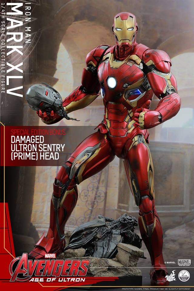 HOT TOYS - Avengers: Age of Ultron - Mark XLV 1/4 scale 11057310