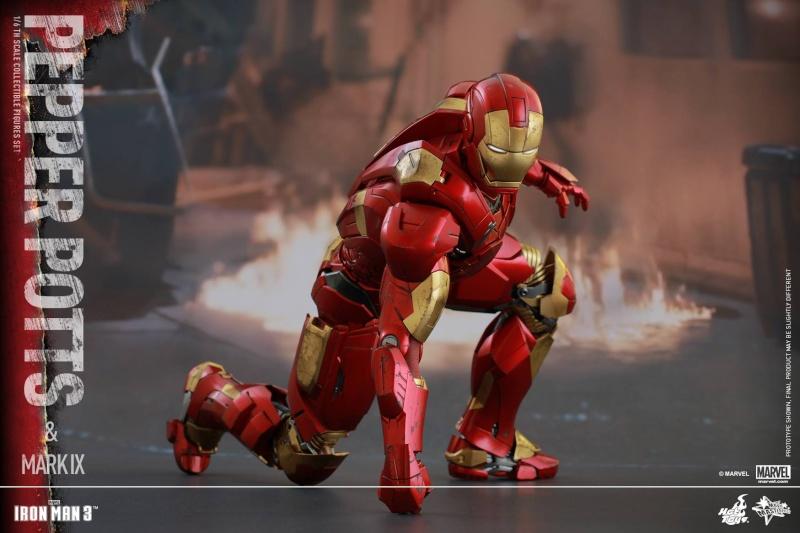 HOT TOYS -  Iron Man 3 - Pepper Potts & Mark IX 11141210