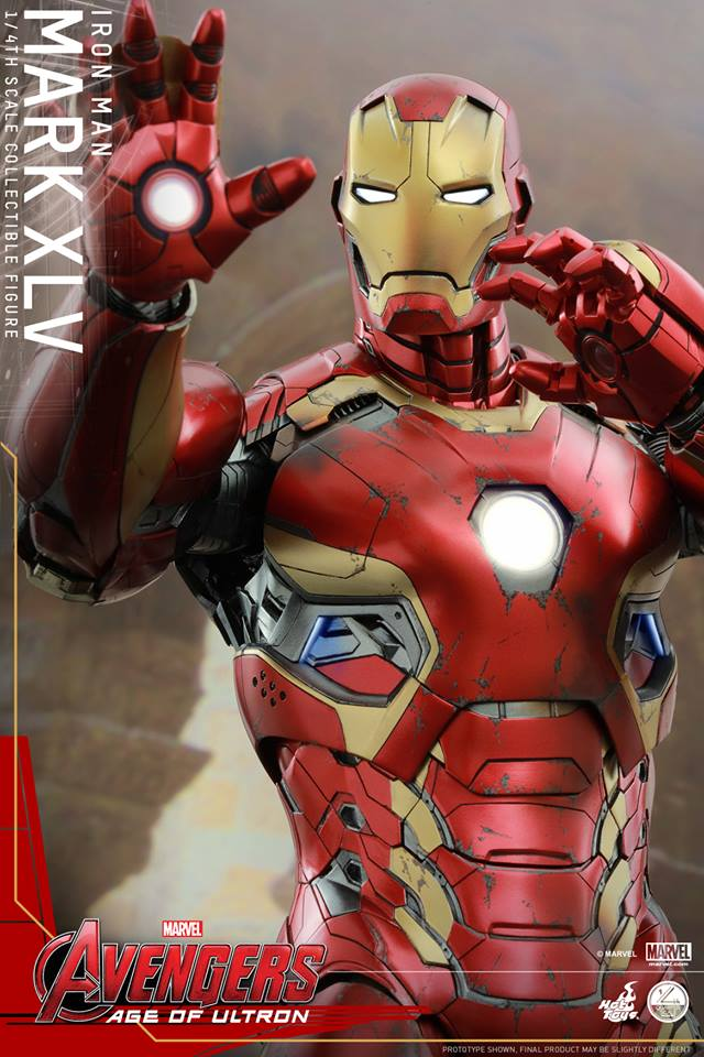 HOT TOYS - Avengers: Age of Ultron - Mark XLV 1/4 scale 11262110