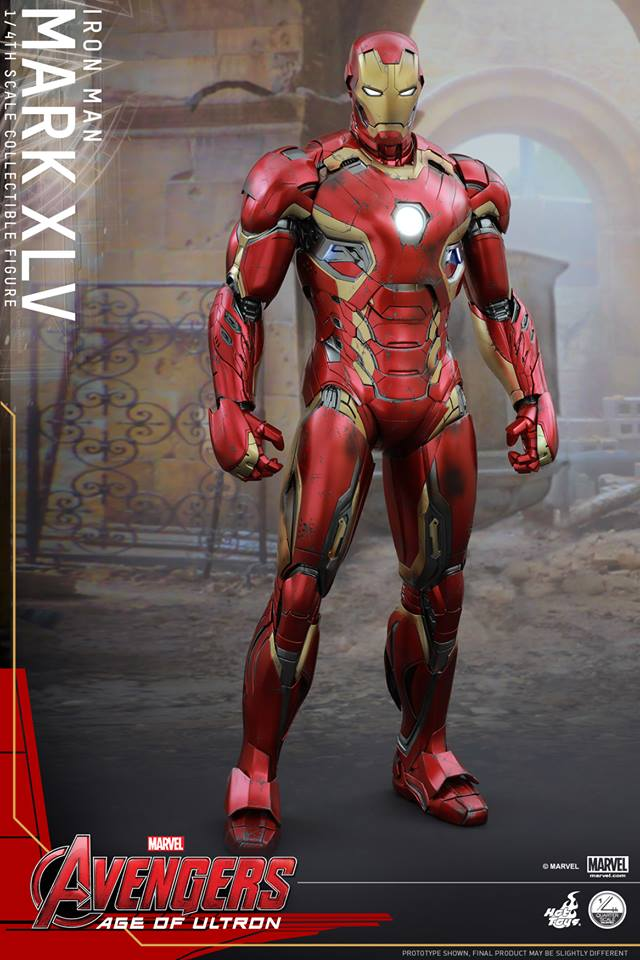 HOT TOYS - Avengers: Age of Ultron - Mark XLV 1/4 scale 11262210