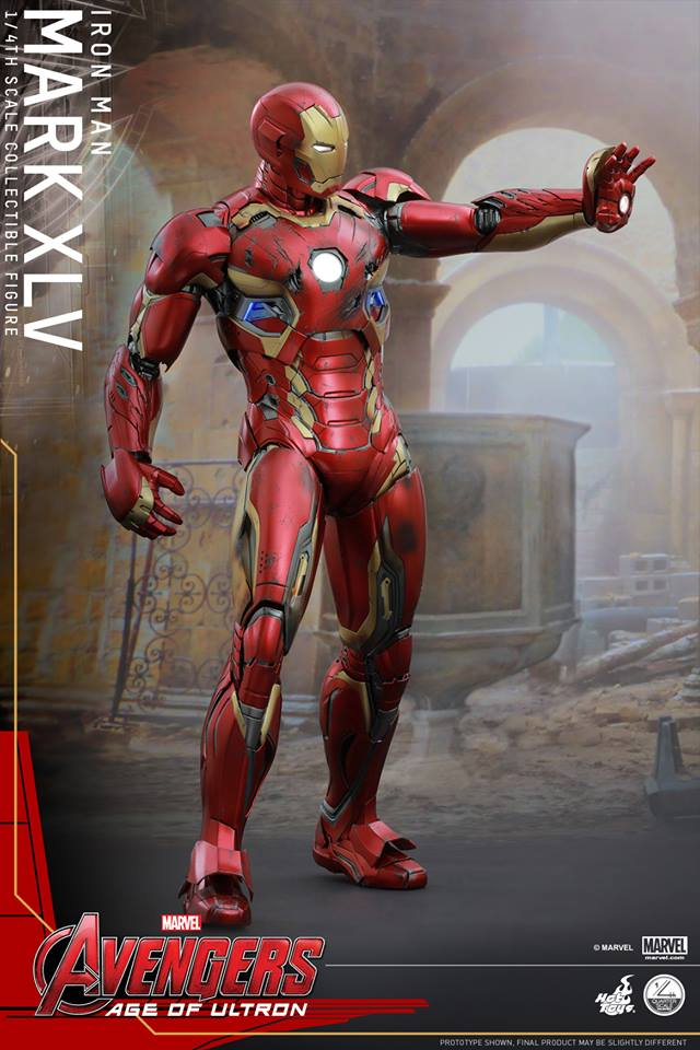 HOT TOYS - Avengers: Age of Ultron - Mark XLV 1/4 scale 11695911