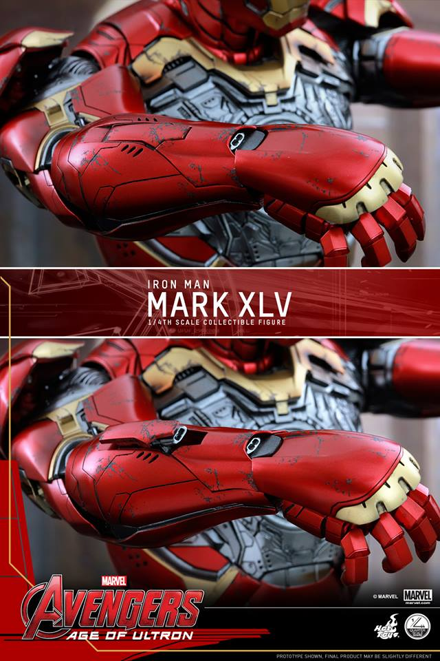 HOT TOYS - Avengers: Age of Ultron - Mark XLV 1/4 scale 11703310
