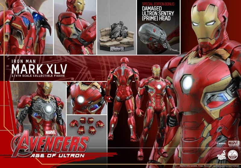 HOT TOYS - Avengers: Age of Ultron - Mark XLV 1/4 scale 11713712