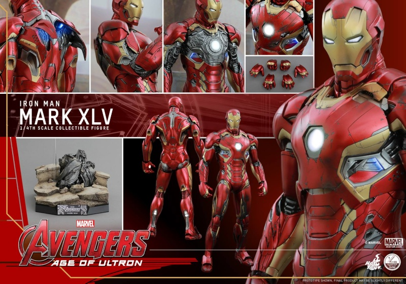 HOT TOYS - Avengers: Age of Ultron - Mark XLV 1/4 scale 11722610