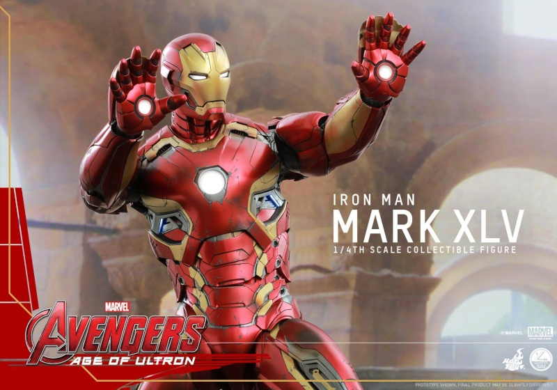 HOT TOYS - Avengers: Age of Ultron - Mark XLV 1/4 scale 11728711