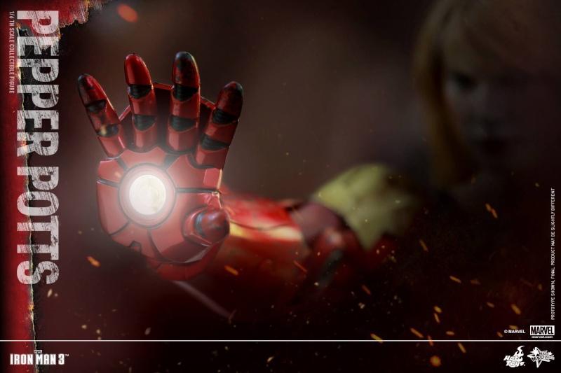 HOT TOYS -  Iron Man 3 - Pepper Potts 11732010