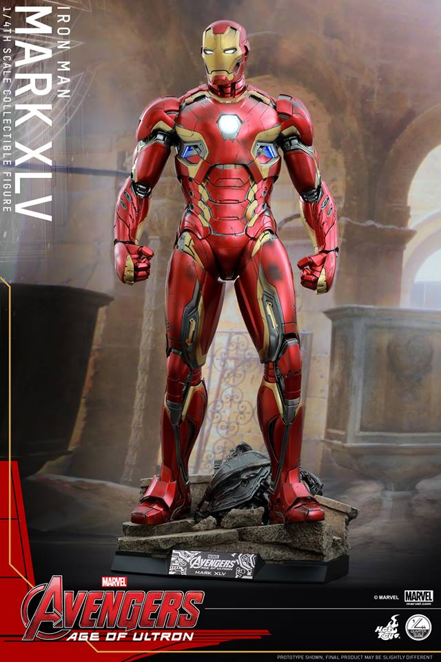 HOT TOYS - Avengers: Age of Ultron - Mark XLV 1/4 scale 11742810