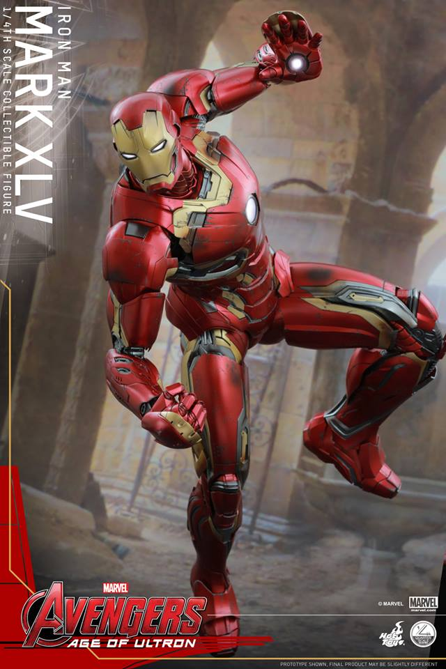 HOT TOYS - Avengers: Age of Ultron - Mark XLV 1/4 scale 11745510