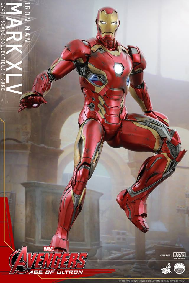 HOT TOYS - Avengers: Age of Ultron - Mark XLV 1/4 scale 11752010