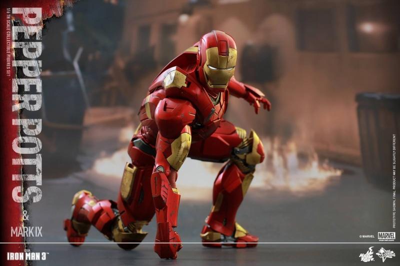 HOT TOYS -  Iron Man 3 - Pepper Potts & Mark IX 11754411