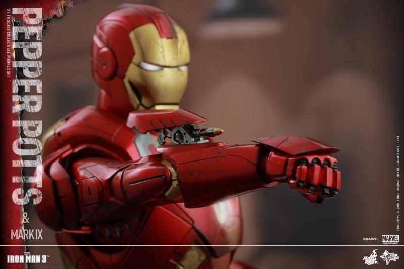 HOT TOYS -  Iron Man 3 - Pepper Potts & Mark IX 11754710