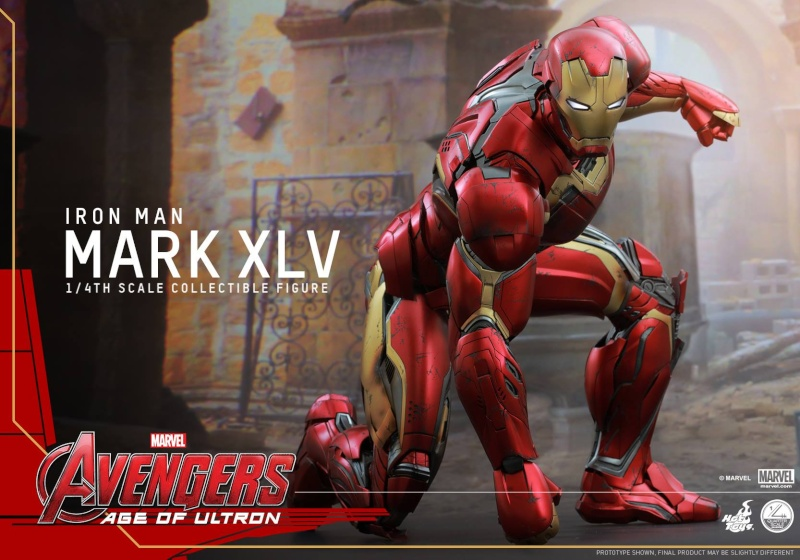 HOT TOYS - Avengers: Age of Ultron - Mark XLV 1/4 scale 11754810