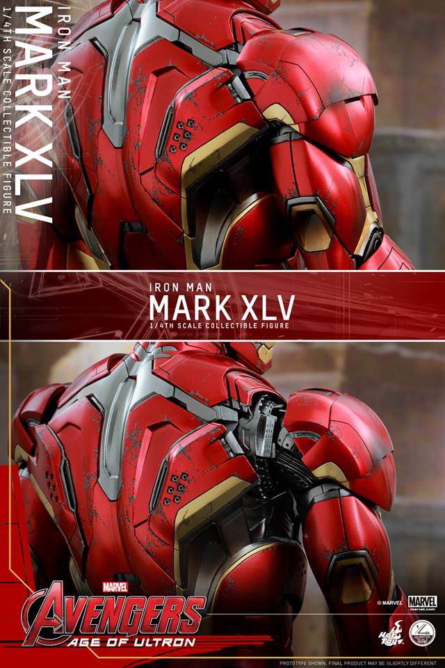 HOT TOYS - Avengers: Age of Ultron - Mark XLV 1/4 scale 11760312