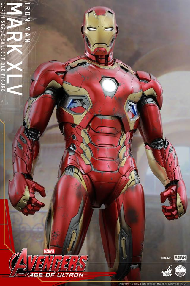 HOT TOYS - Avengers: Age of Ultron - Mark XLV 1/4 scale 11781610