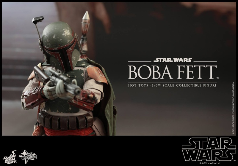 HOT TOYS - SW : Ep VI Return Of The Jedi - Boba Fett (Exclu) 11822911