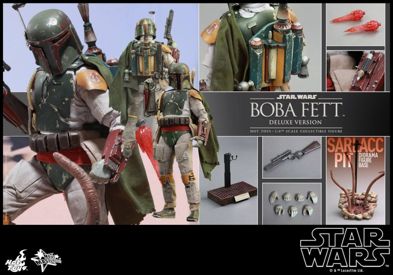 HOT TOYS - SW : Ep VI Return Of The Jedi - Boba Fett (Exclu) 11850410