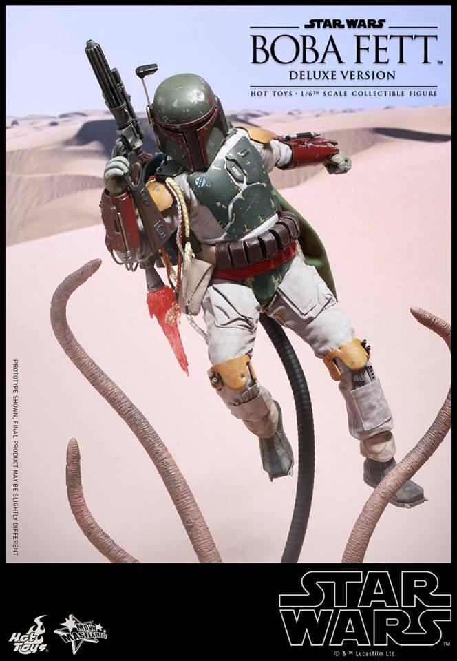 HOT TOYS - SW : Ep VI Return Of The Jedi - Boba Fett (Exclu) 11863310
